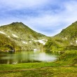 Capra Lake and Fagaras mountains in Romania — Stock Photo #51332181