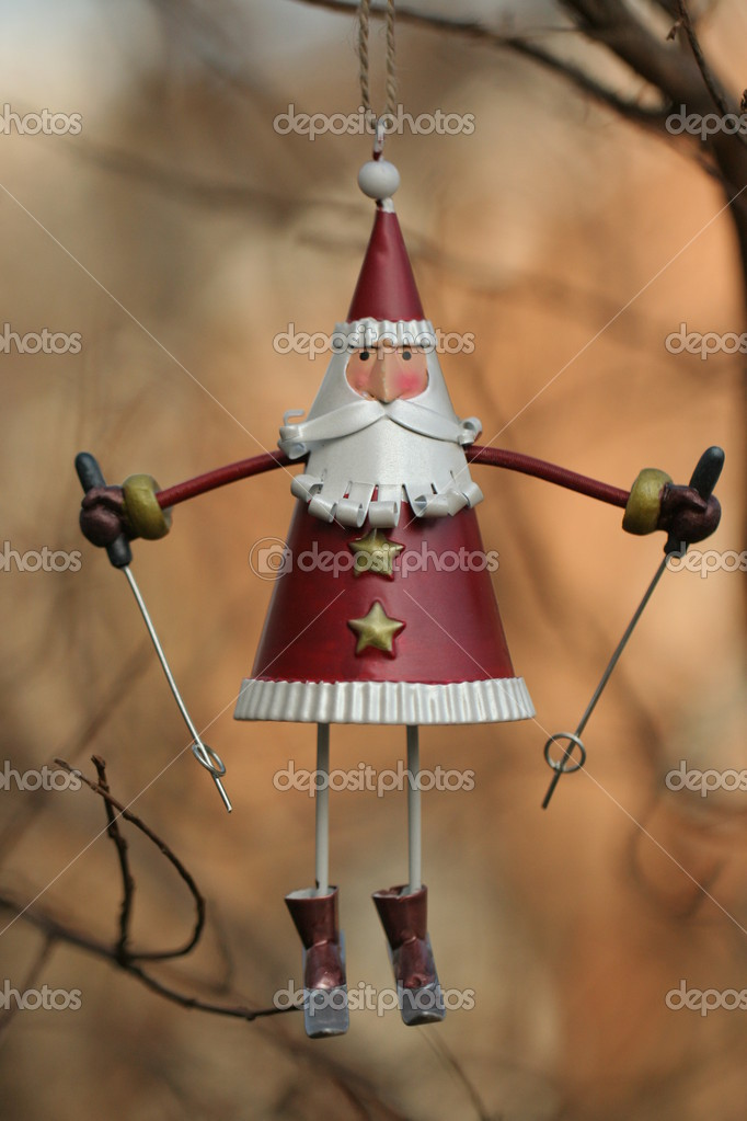Santa Claus toy — Stock Photo #13693419