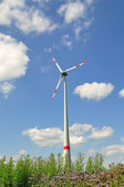 Wind turbine. — Stock Photo