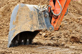 Excavator bucket. — Stock Photo