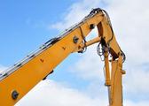 Excavator arm. — Stock Photo