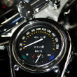 Motorcycle tachometer. — Stock Photo