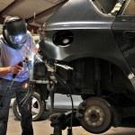 Car welding. — Stock Photo #13794596