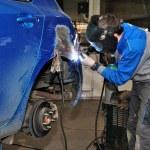 Car welding. — Stock Photo #13795192