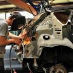 Car body work. — Stock Photo