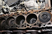 Cylinder block. — Stock Photo