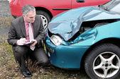 Insurance expert. — Stock Photo