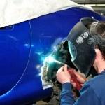 Car body work. — Stock Photo #14046757