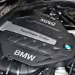 Detail of BMW engine - Foto Stock
