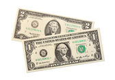 Dollar bill — Stockfoto