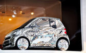 Smart fortwo disco — Stock fotografie