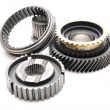 Stock Photo: Car gear box sprocket.