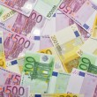 Euro paper money background. — Stock Photo #18651455