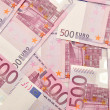 Euro paper money background. — Stock Photo #18651581
