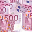 500 Euro banknotes. — Stock Photo