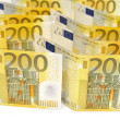 200 euro banknotes. — Stock Photo #19441105
