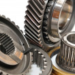 Stock Photo: Gearbox sprockets.