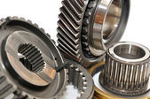 Gearbox sprockets. — Stock Photo