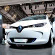 Concept car, Renault ZOE. — Stock Photo