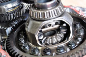 Differential from car gear box. — Fotografia Stock