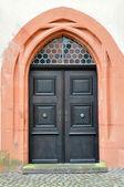 Ancient church door. — Stock Photo