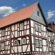 Fachwerkhaus in Germany. - Foto Stock