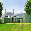 Stock Photo: Bio fuel plant.
