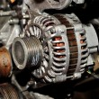Old car alternator. — Stock Photo