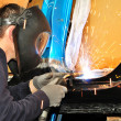 Car body welding. — Stock Photo #35436843