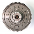 Stock Photo: Single gear top view.