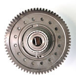 Single gear top view. — Stock Photo