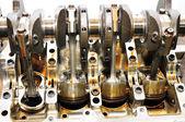 Inside engine. — Stock Photo