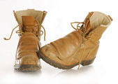 Work boots — Stock Photo