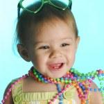 Fashionable baby — Stock Photo #13924044