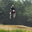 Motocross racing - Stock Photo