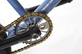 Bicycle sprocket — Stock Photo