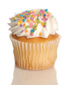 Vanilla cupcake — Stock Photo