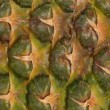 Close up details of pineapple skin texture — Stock Photo