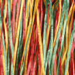 Close up of colorful streamers — Stock Photo