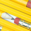 Abstract design of many pencils — Stock Photo