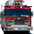 Stock Photo: Emergency response vehicle or firetruck