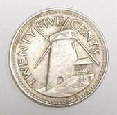 Twenty five cents coin — Stock Photo