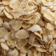 Close up details of five minute instant oatmeal background — Stock Photo