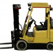 Industrial forklift with forks - Foto Stock
