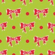 Royalty-Free Stock Vector Image: Christmas background with bows and polka dots