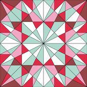 Seamless geometric background/pattern — Stock Vector