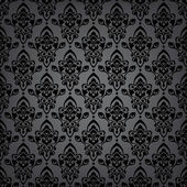 Seamless black luxury pattern — Stock Vector