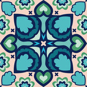 Seamless oriental geometric pattern,vector illustration — Stock Vector