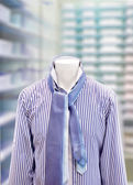 Men's short with tie — Stock Photo