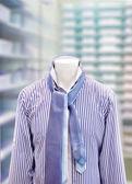 Men's short with tie — Stock Photo